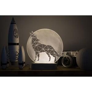 Náladové svetlo Wolf Full Moon
