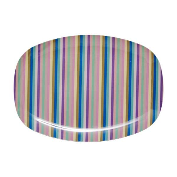 Servírovací tanier Stripe Print