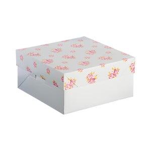 Papierová kvtinová škatuľa Mason Cash Cake, 25 x 25 cm