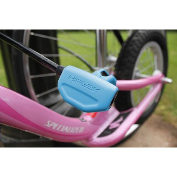 Zámok na bicykel Hiplok Pop Cream