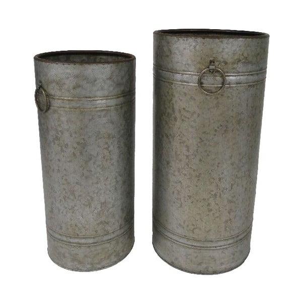 Set 2 kovových dóz Antic Line Antik