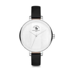 Dámske hodinky s koženým remienkom Santa Barbara Polo & Racquet Club Bubble
