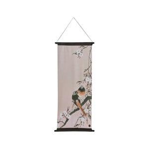 Závesný plagát BePureHome Velvet Pinktails, 55 × 110 cm