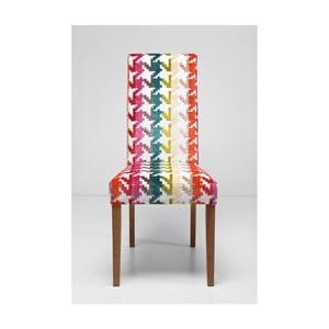 Čalúnená jedálenská stolička Kare Design Econo Slim Game