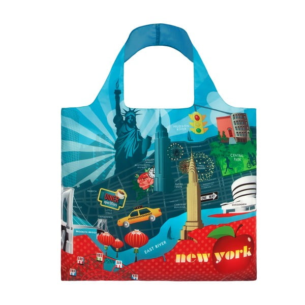 Skladacia nákupná taška New York