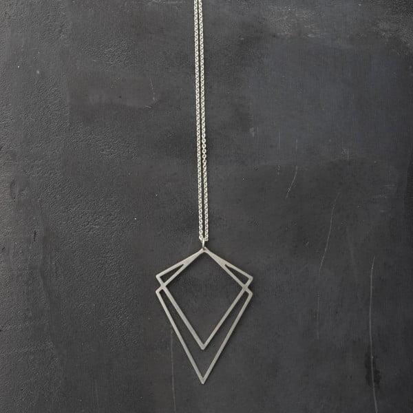 Náhrdelník Solid Silver z kolekcie Geometry