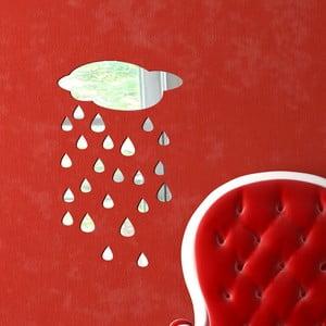 Dekoratívne zrkadlo Dážď