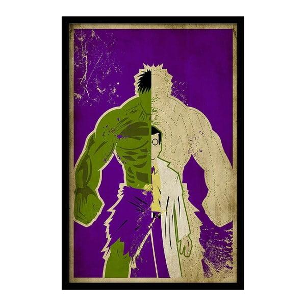 Plagát Double Hulk, 35x30 cm