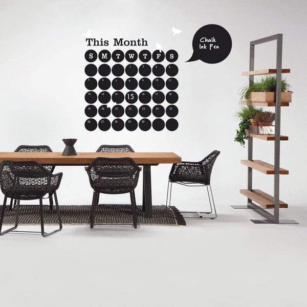 Dekoratívna samolepka Calendar, 120x120 cm