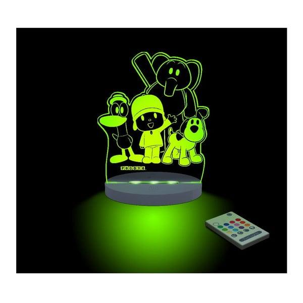 Detské LED nočné svetielko Pocoyo & Friends