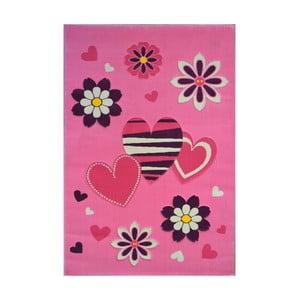 Ružový koberec Princess , 120 x 180 cm
