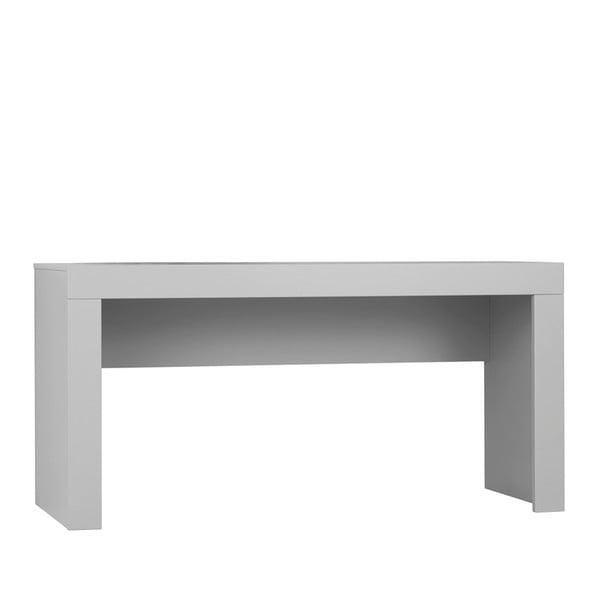Sivý pracovný stôl Pinio Calmo