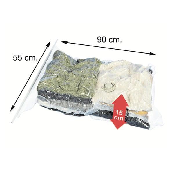 Sada 2 vákuových vriec na oblečenie Jocca Bags, 130 x 74 cm