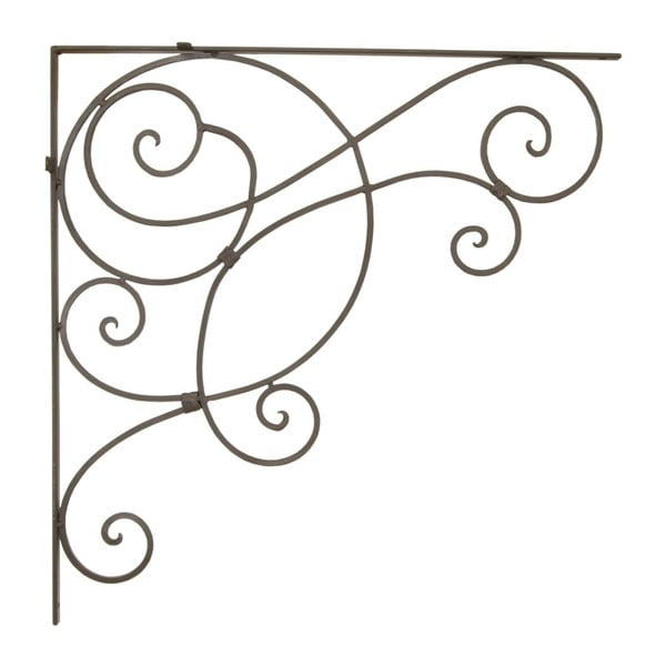 Nástenná kovová dekorácia Hookiron