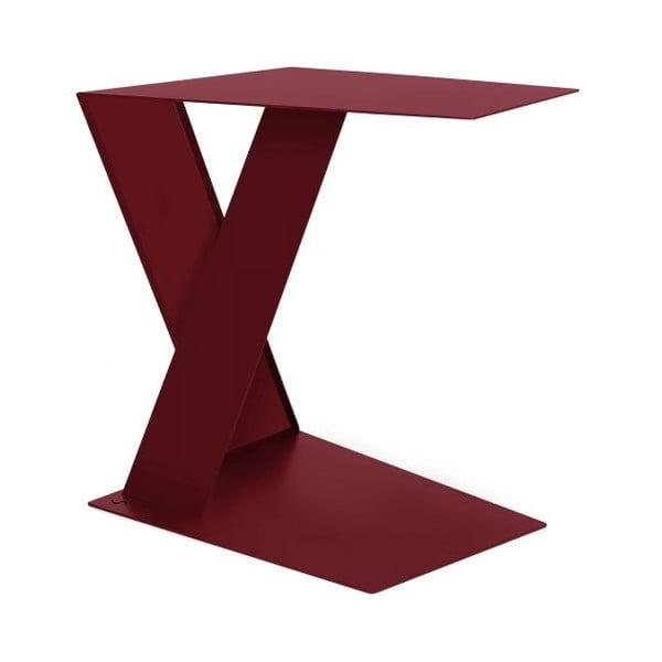 Odkladací stolík Siderietto Red