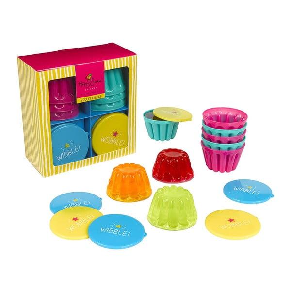 Set 6 ks formičiek Happy Jackson Jelly Mould