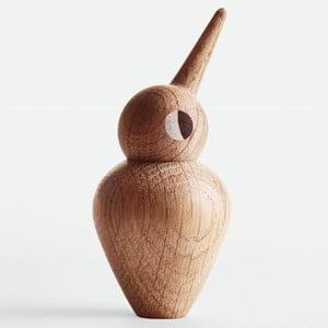 Veľká dekorácia v tvare vtáčika s pohyblivou hlavičkou Architectmade Bird