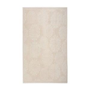 Krémový bavlnený koberec Floorist Ganda, 120x180cm