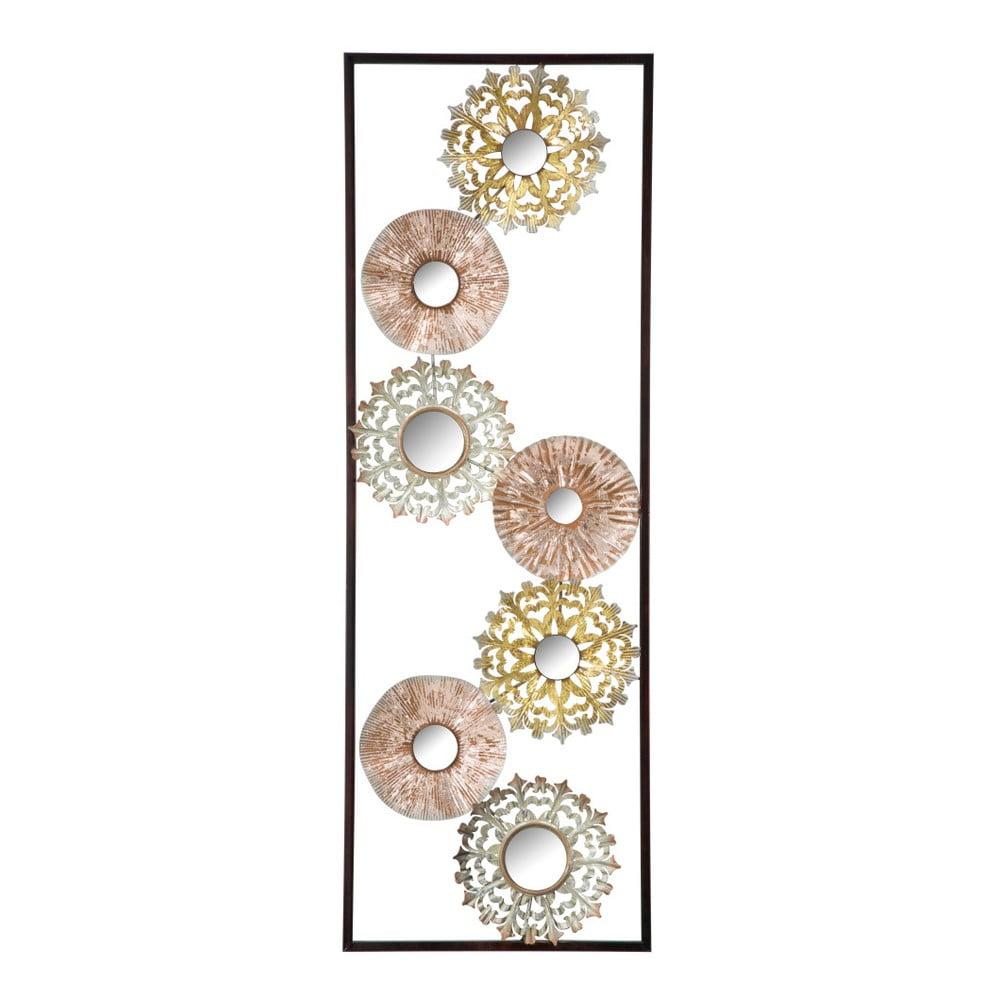 Kovová nástenná dekorácia Mauro Ferreti Gliss, 90 cm