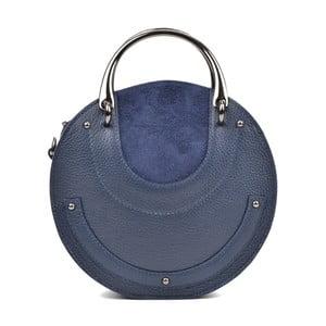 Modrá kožená kabelka Isabella Rhea Alice