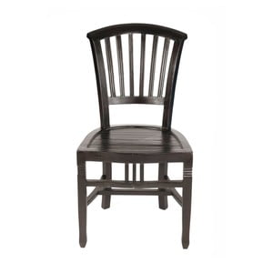 Stolička z mahagónu SOB Poirot