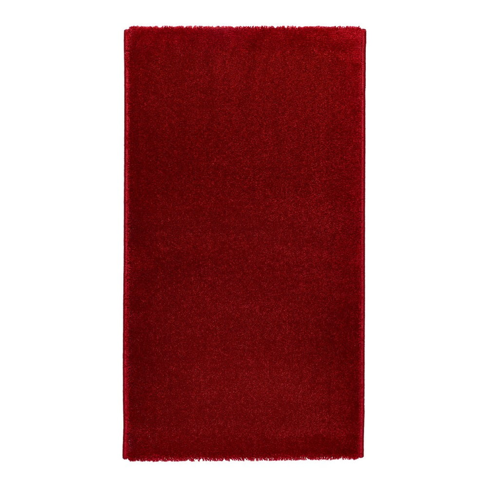 Červený koberec Universal Veluro Rojo, 57 × 110 cm