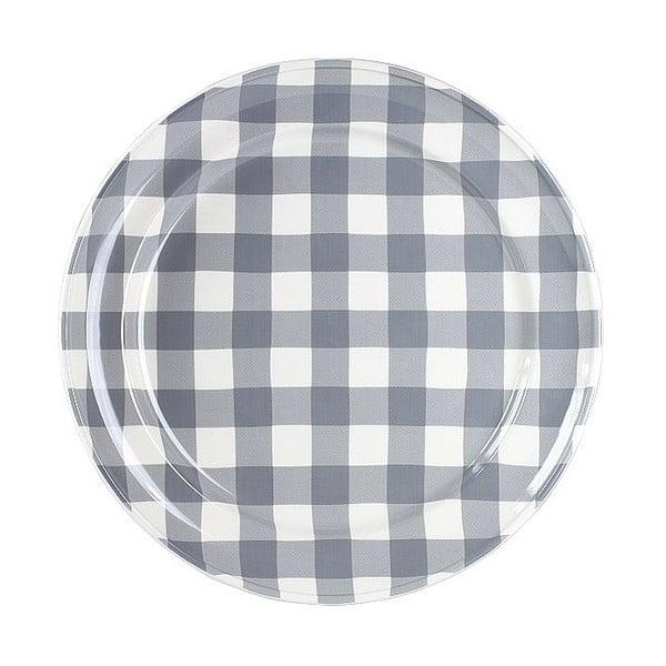 Keramický tanier Marikere Grey, 32 cm