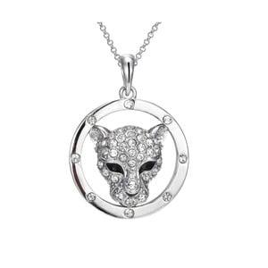 Náhrdelník s krištáľmi Swarovski Elements Crystals Panthers