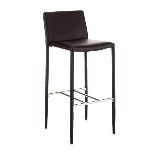 Barová stolička Tomasucci Lion, čierna