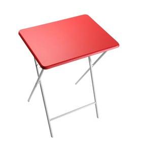 Červená skladacia stolička Versa Crual