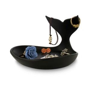 Čierna miska na šperky J-Me Baby Whale