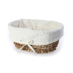 Prútený košík Oval Basket, 46 cm