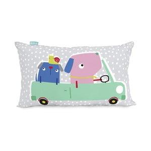 Bavlnená obojstranná obliečka na vankúš Moshi Moshi Patchwork, 50 x 30 cm