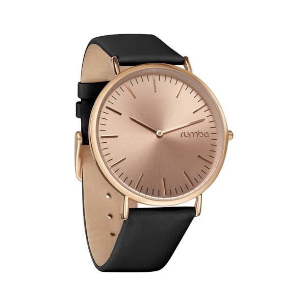 Dámske hodinky SoHo Leather Rose Gold Black