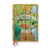 Diár na rok 2019 Paperblanks Letter to Morisot Horizontal, 10×14 cm