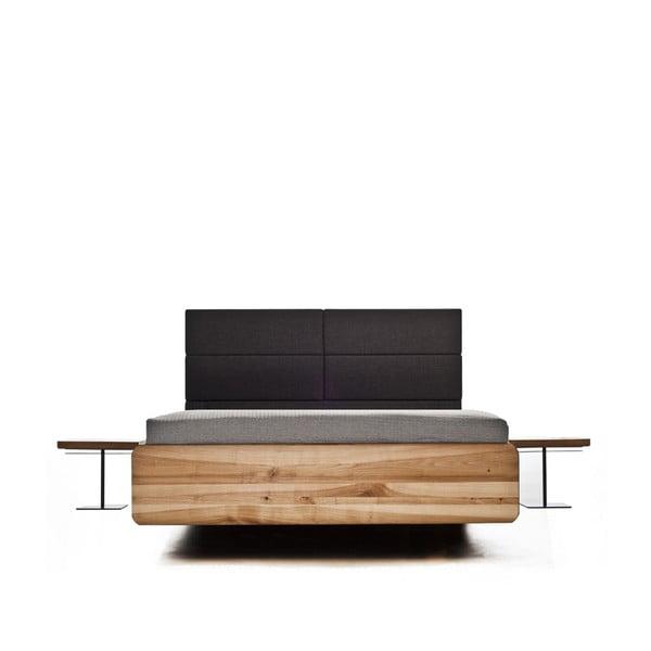 Posteľ z jelšového dreva Mazzivo Boxspring, 140 x 200 cm