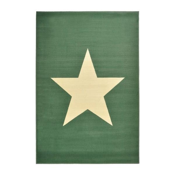 Detský zelený koberec koberec Hanse Home Star, 140×200cm