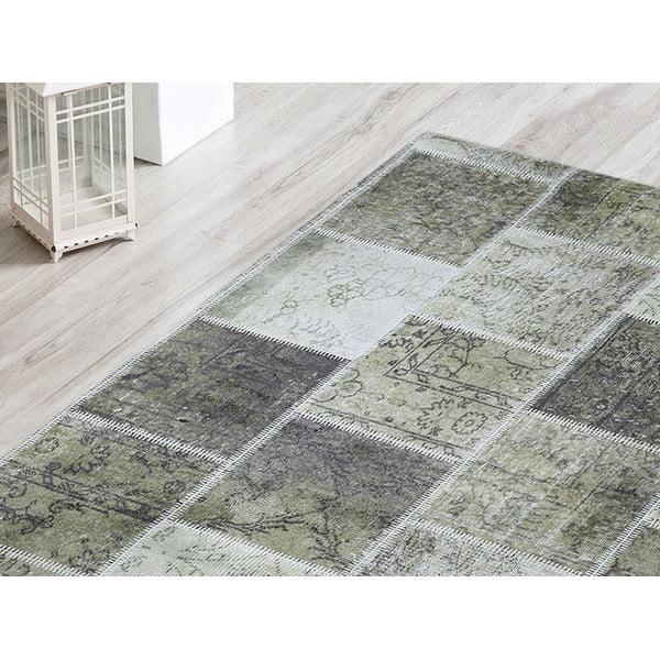 Koberec Green Patchwork, 80x120 cm