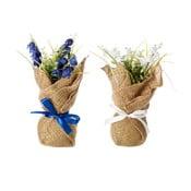 Sada 2 umelých kvetov Unimasa Provence