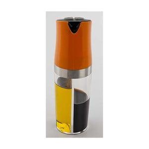 Oranžová dvojitá fľaša na olej a ocot Utilinox