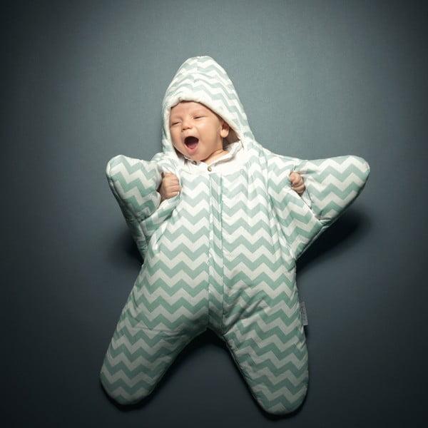 Detský vak na spanie Blue Star, vhodný aj na leto, pre deti od 4 do 7 mesiacov