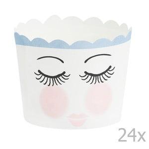 Sada 24 košíčkov na pečenie Miss Étoile Eyes