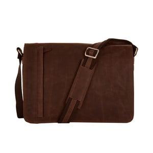 Pánska messenger taška Vintage Brown