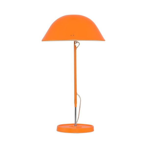 Stolová lampa Newz, oranžová
