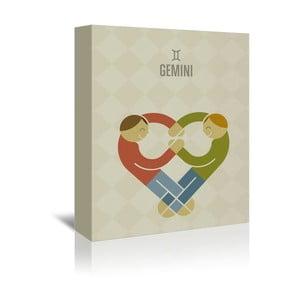 Obraz na plátne Gemini od Christiana Jacksona