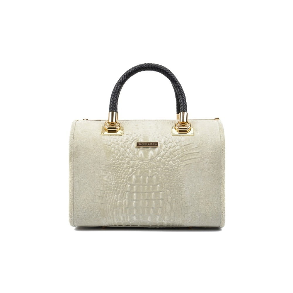 4ee8f6315e Béžová kožená kabelka Isabella Rhea Karma Beige