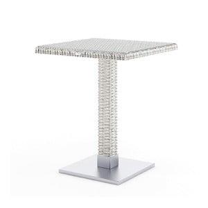 Biely záhradný stôl Oltre Quadro, 60cm