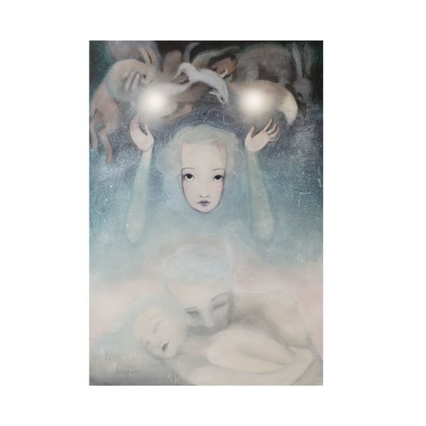 Autorský plagát od Lény Brauner Podvedomie, 43x60 cm