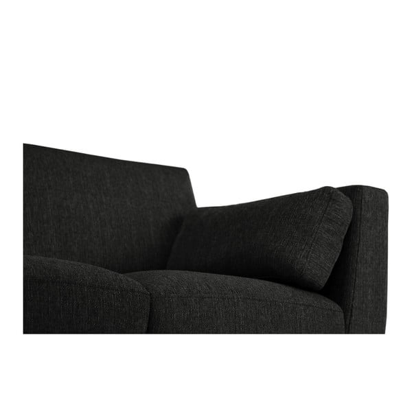 Čierne kreslo Jalouse Maison Elisa