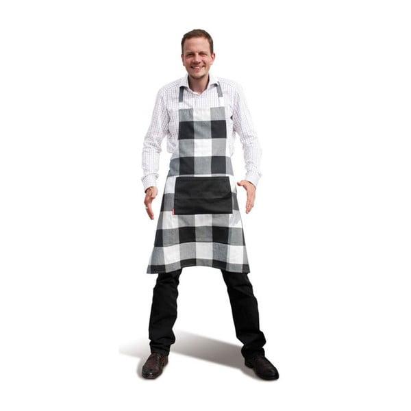 Kuchynská zástera Black Caros